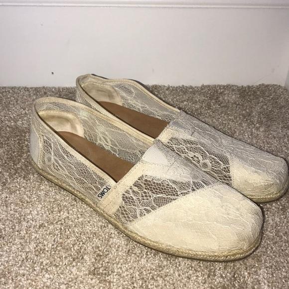 Toms Shoes | Toms Lace Shoe | Poshmark